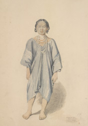 Shembaloon, native of Koonyoo. Khien Woman